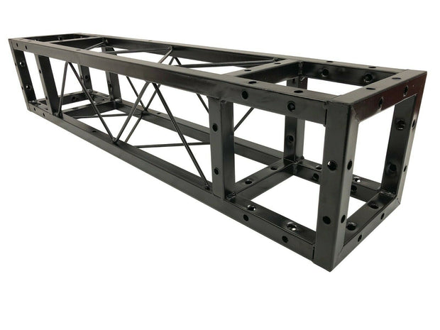 "LK-20100 1M Length Square 8""x8"" Black Trussing Box Truss Section Bolt"