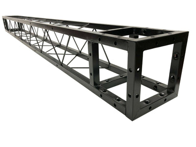 "LK-20250 2.5M 8.20 ft. Square 8""x8"" Black Trussing Box Truss Section Bolted"