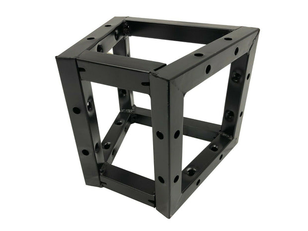 "3-Way Triangle For Square Black Bolt Trussing 8""x8"" Truss 70-Degree"