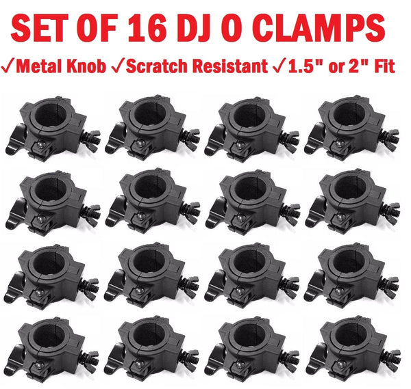 Sixteen (16) O CLAMPs - DJ u0026 Stage Lighting Heavy Duty Mounting O Cl&s  sc 1 st  cedarslink & DJ Lighting Clamps u2013 cedarslink azcodes.com