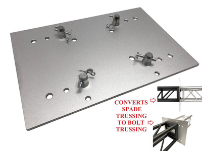 "23.75""x15.75"" Base Plate/Top For F34 Trussing/Converts Spade Truss to Bolt Truss"