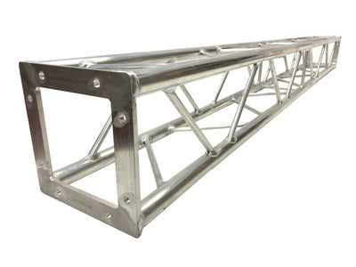"STA-B2 6.56 ft. (2 Meter) Square Aluminum 8""x8"" Bolted Type Trussing Segment Section"