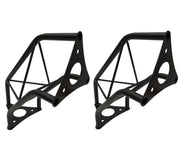 "(2) Two Black Metal Corners Mini 6"" Bolted Triangle Trusses DJ Lighting Arch"