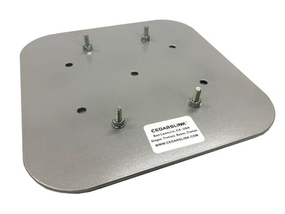 "12""X12"" Aluminum Base Plate/Top For Bolt Style LK-STA Cedarslink 8""x8"" Trussing"