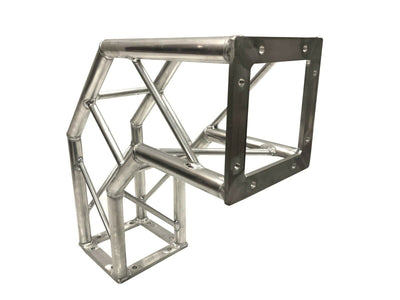 "19"" Bolt Corner For DJ Light Stand 8""X8"" Square Trussing With 1.25"" Tubing"