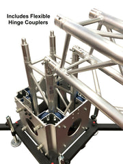 (2) 8.20 Ft. Height Ground Support Truss Lifting Tower Roof System Outriggers
