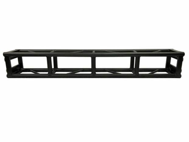 13 ft. Span Black Bolted 300mm x 300mm Aluminum Truss Two 14ft. Crank Up Stands