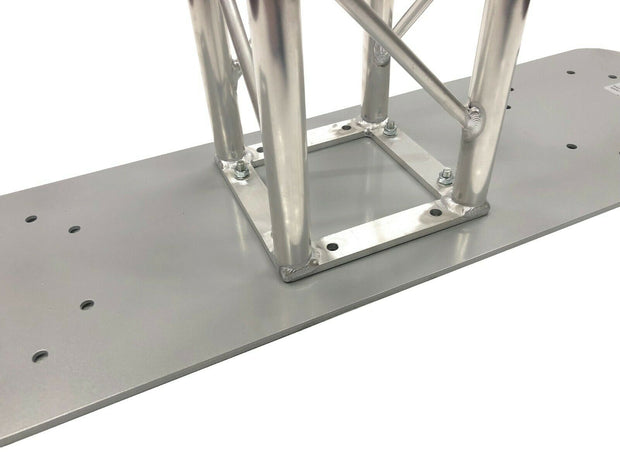 "11""X39"" Aluminum Base Plate/Top For Bolt Style LK-STA Cedarslink 8""x8"" Trussing"