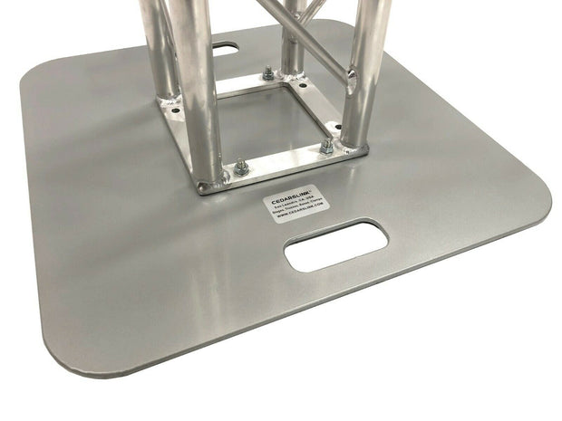 "20""X20"" Aluminum Base Plate/Top For Bolt Style LK-STA Cedarslink 8""x8"" Trussing"