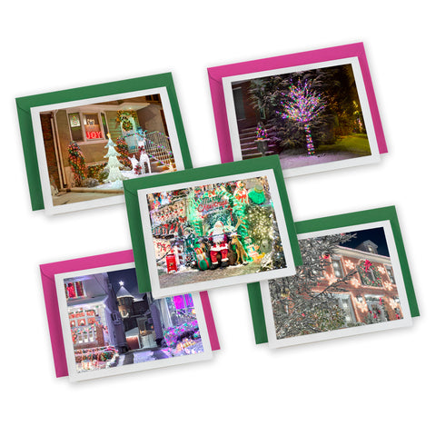 Dyker Lights Holiday Card 5-pack
