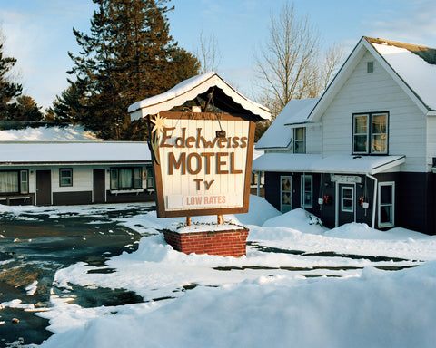 "Adirondack Motels Print 38"" x 46"" (various images)"