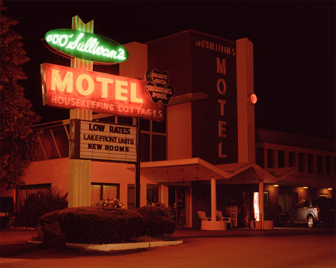 "Adirondack Motels Print 25"" x 30"" (various images)"