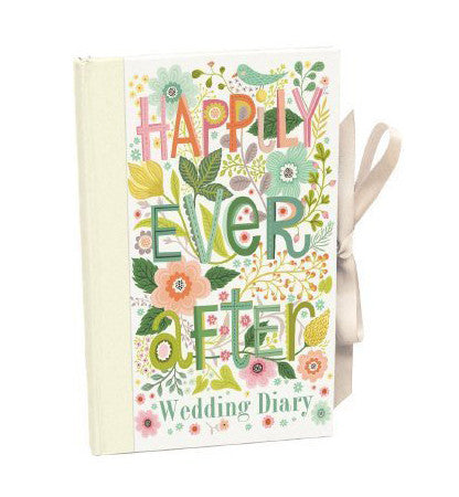Happily Ever After Wedding Diary - Journal - Planner and Keepsake
