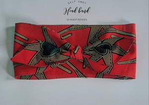 Nairobi Self Knot Head Band