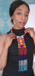 Kendi Beaded Zulu Choker Necklace