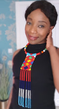 Load image into Gallery viewer, Kendi Beaded Zulu Choker Necklace