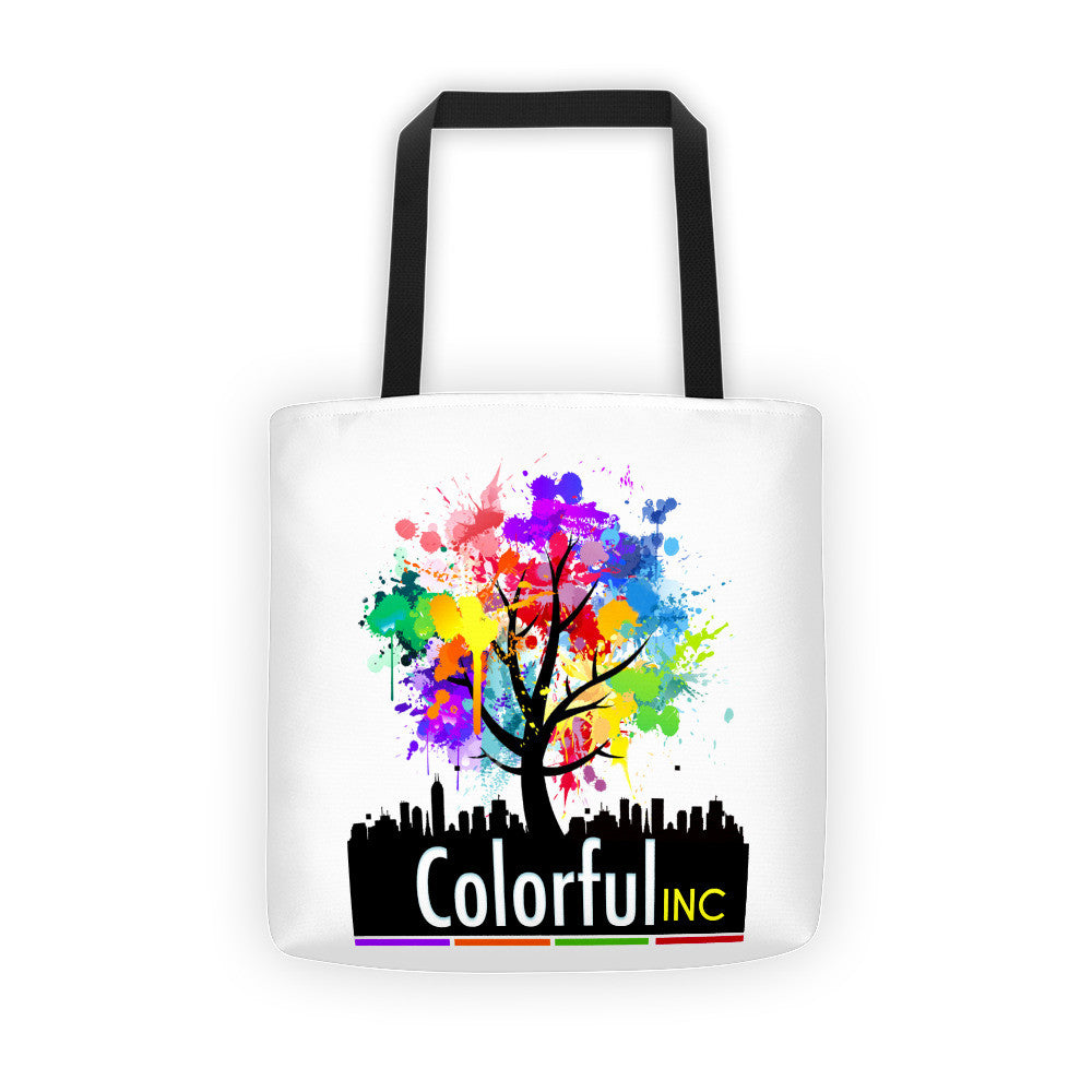 Colorful Inc. Tote bag