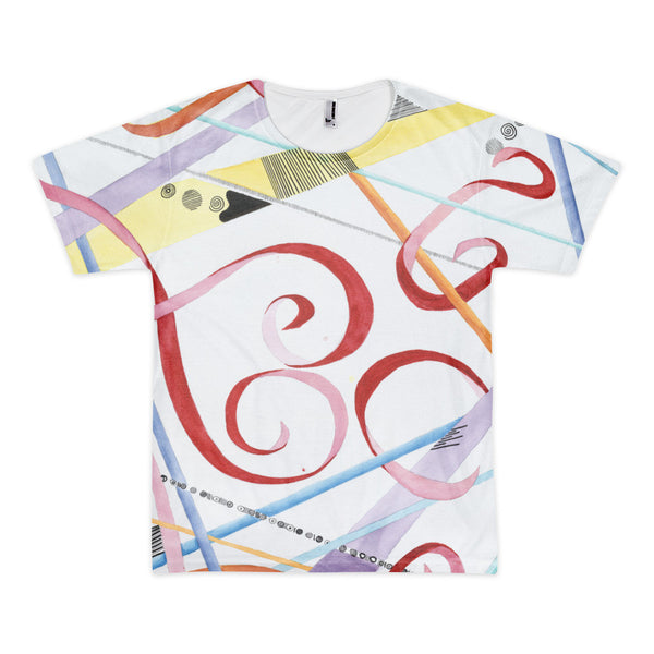 Whimsical Love Short sleeve men's t-shirt (unisex)