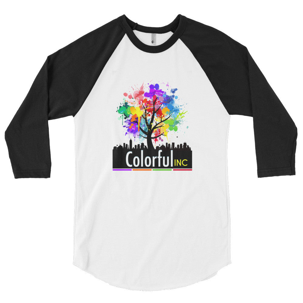 Colorful Inc. 3/4 sleeve raglan shirt
