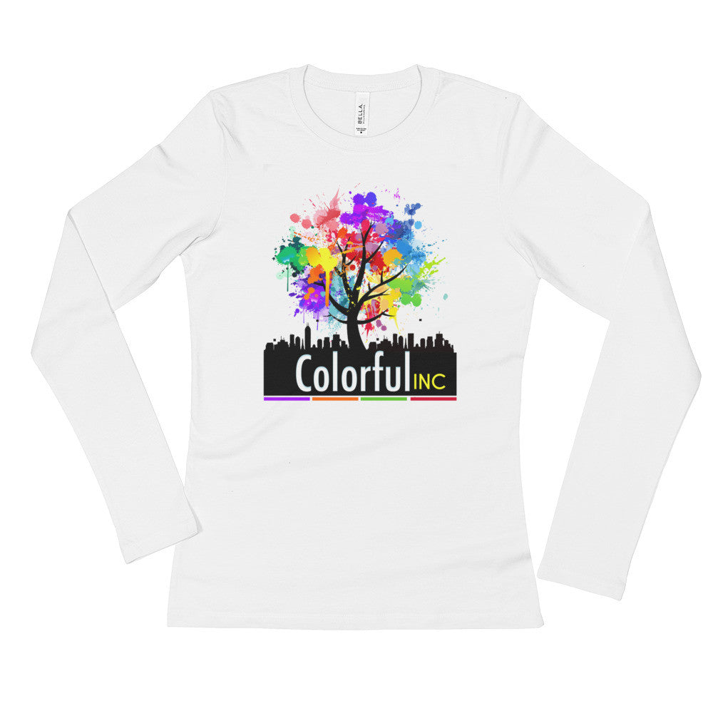Colorful Inc. Ladies' Long Sleeve T-Shirt