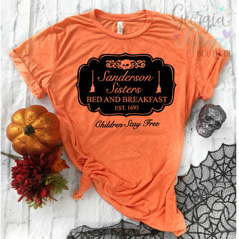 Sanderson Sisters Bed and Breakfast Hocus Pocus Shirt