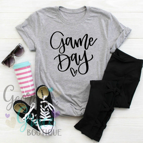 Game Day Mom Shirt / Soccer Mom Tee / Game Day T-Shirt