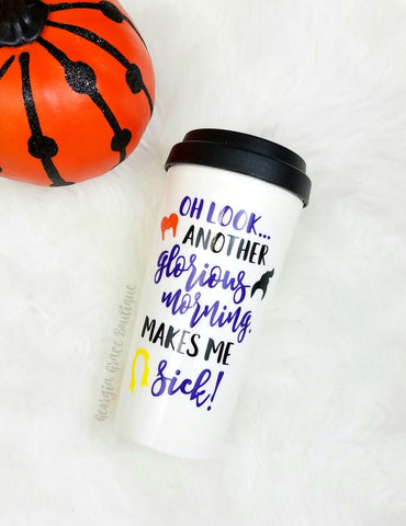 Hocus Pocus Coffee Travel Tumbler