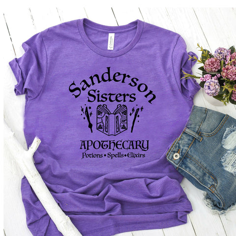 1b8655f74 Sanderson Sisters Apothecary Hocus Pocus Shirt