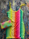 """FOLLOW THE RAINBOW"" DRESS"