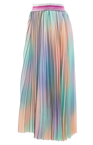"""BORDERLINE PASTELS"" SKIRT"