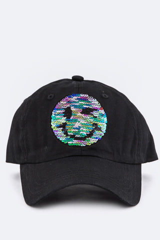 """HAPPY DAYS"" BASEBALL CAP (black)"