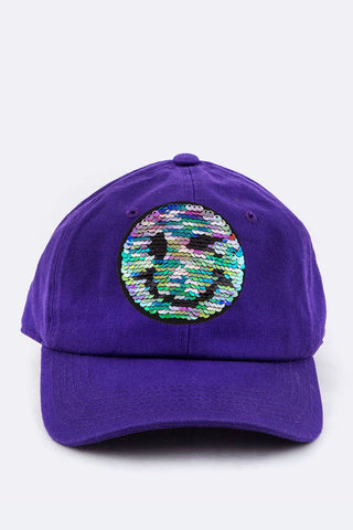 """HAPPY DAYS"" BASEBALL CAP (grape)"
