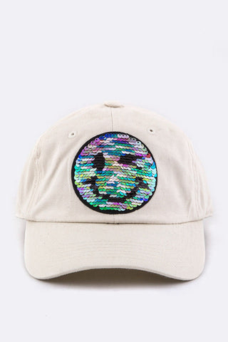 """HAPPY DAYS"" BASEBALL CAP (sand)"