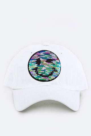 """HAPPY DAYS"" BASEBALL CAP (WHITE)"