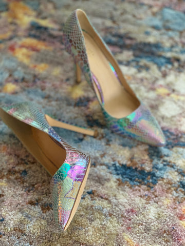 """MERMAID SNAKE"" PUMPS"