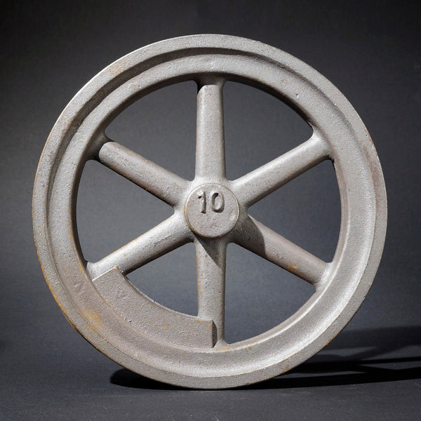 "10"" Flywheel 6-Spoke Straight Counterweight"