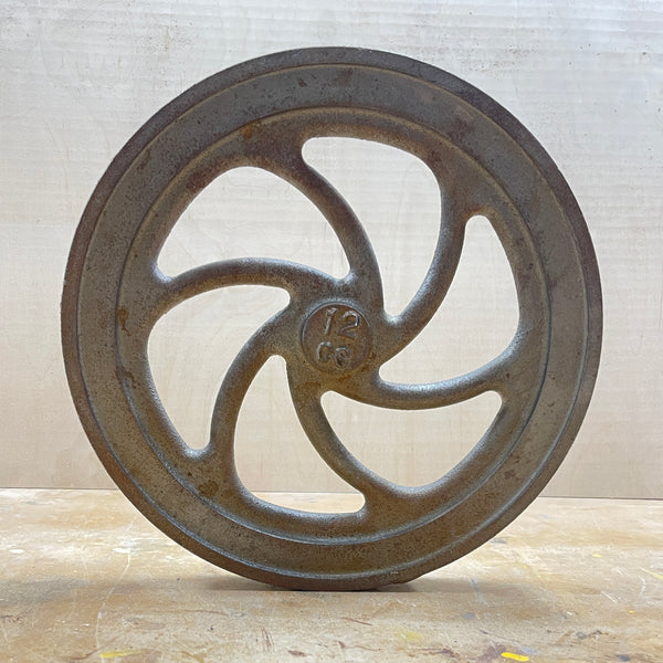 "12"" Flywheel 6-Spoke Curved"