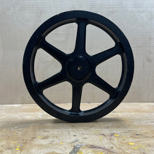"13"" Flywheel 6-Spoke Straight (Special Order - Deposit)"