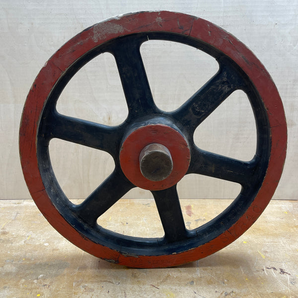 "17"" Flywheel 6-Spoke Straight (Special Order - Deposit)"