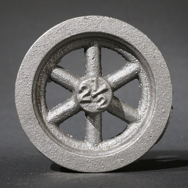 "2½"" Fly Wheel 6-Spoke Straight"