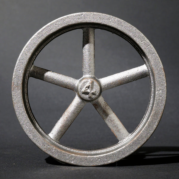 "4"" Flywheel 5-Spoke Straight"