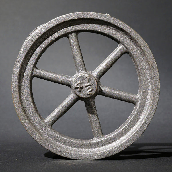 "4½"" Flywheel 6-Spoke Straight"