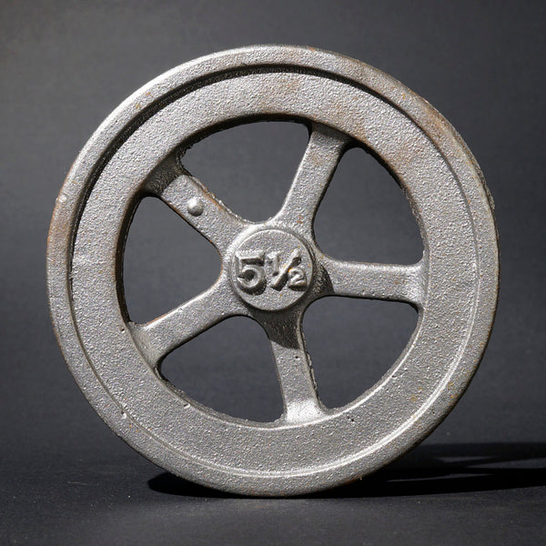 "5½"" Flywheel 5-Spoke Straight (Double Tange)"