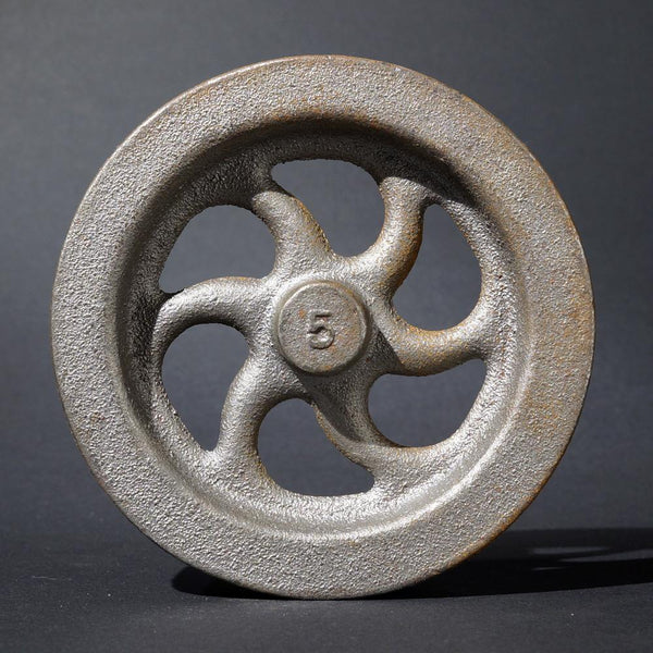 "5"" Flywheel 6-Spoke Curved Heavyweight"