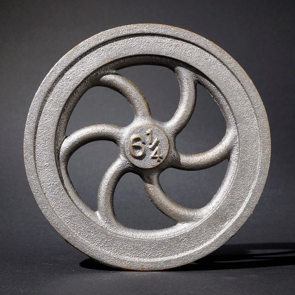 "6¼"" Flywheel  6-Spoke Curved"