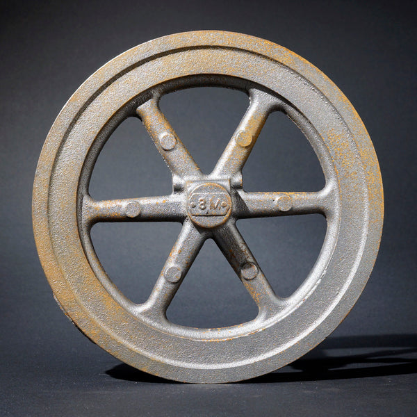 "8"" Flywheel 6-Spoke Straight (Mogul)"