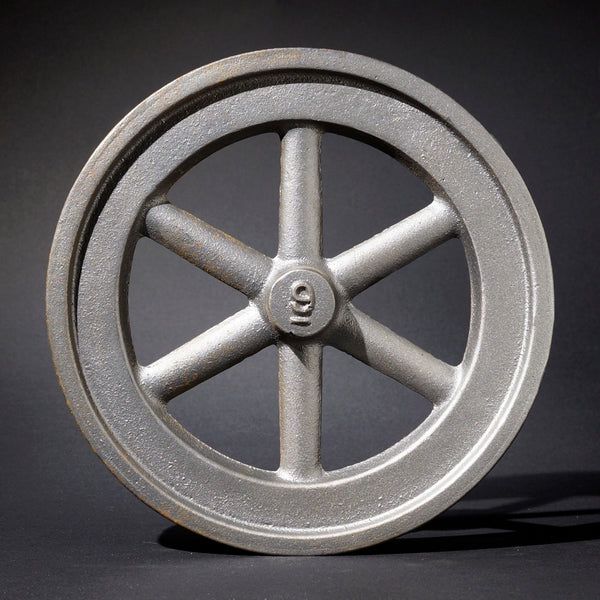 "9"" Flywheel 6-Spoke Straight"