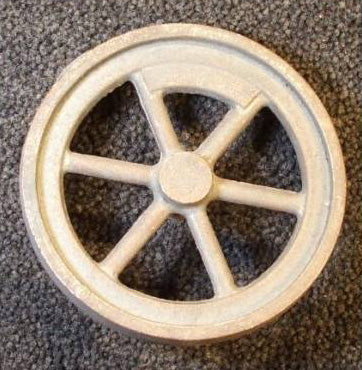 "4½"" Flywheel 6-Spoke Straight Counterweight Gade"