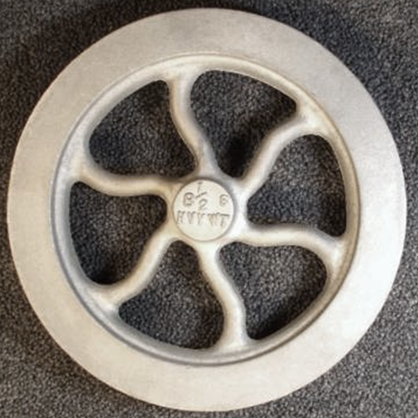 "8½"" Flywheel 6-Spoke Curved (Heavyweight)"