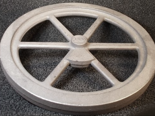 "10½"" Flywheel 6-Spoke Straight Counterweight (Mery)"